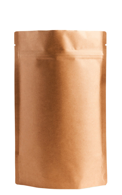 Natural Kraft Metallized Stand-Up Pouches