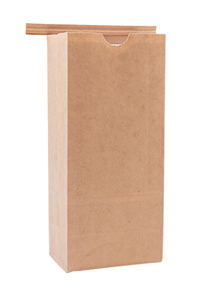 Tin Tie Paper Bags with Poly Liner