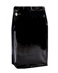 12oz. (340g) Foil Square Bottom Gusseted Bags with E-Zip