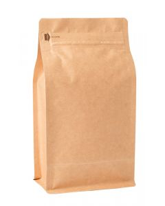16oz. (450g) Foil Square Bottom Gusseted Bags with E-Zip